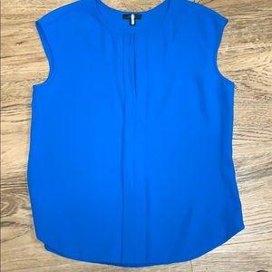 J Crew Blue Sleeveless Top Size 12